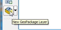 Create New GeoPackage Layer