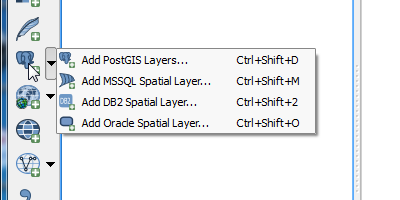 Add PostGIS, MSSQL, DB2, and Oracle Spatial Layers to Map
