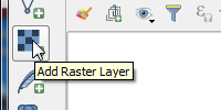 Add Raster Data Image