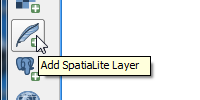 Add SpatiaLite Data Image
